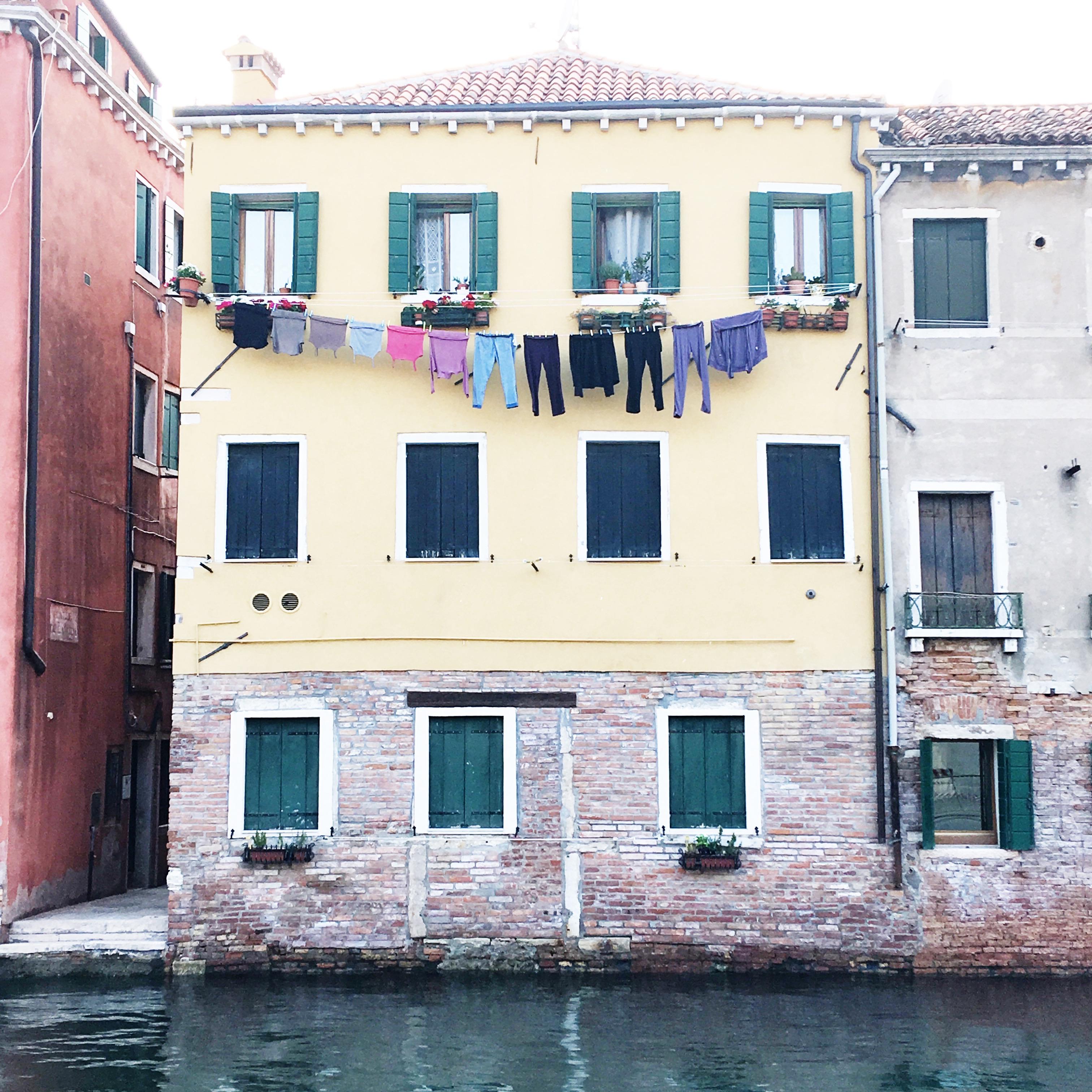 venezia, panni stesi - Vivere per Raccontarla