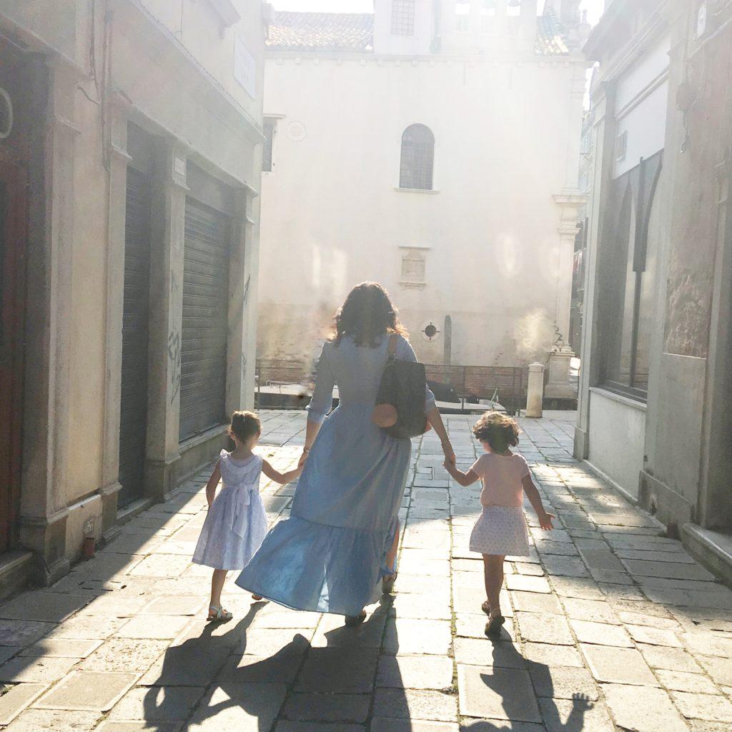 Francesca Guatteri, calli di venezia