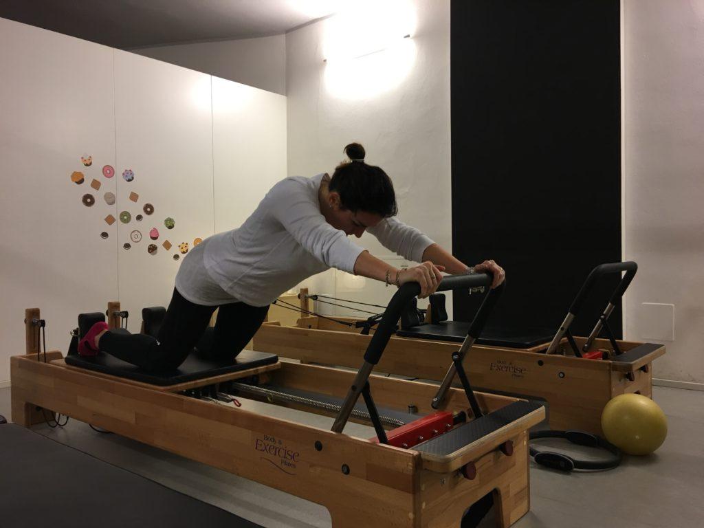 Pilates con grandi attrezzi