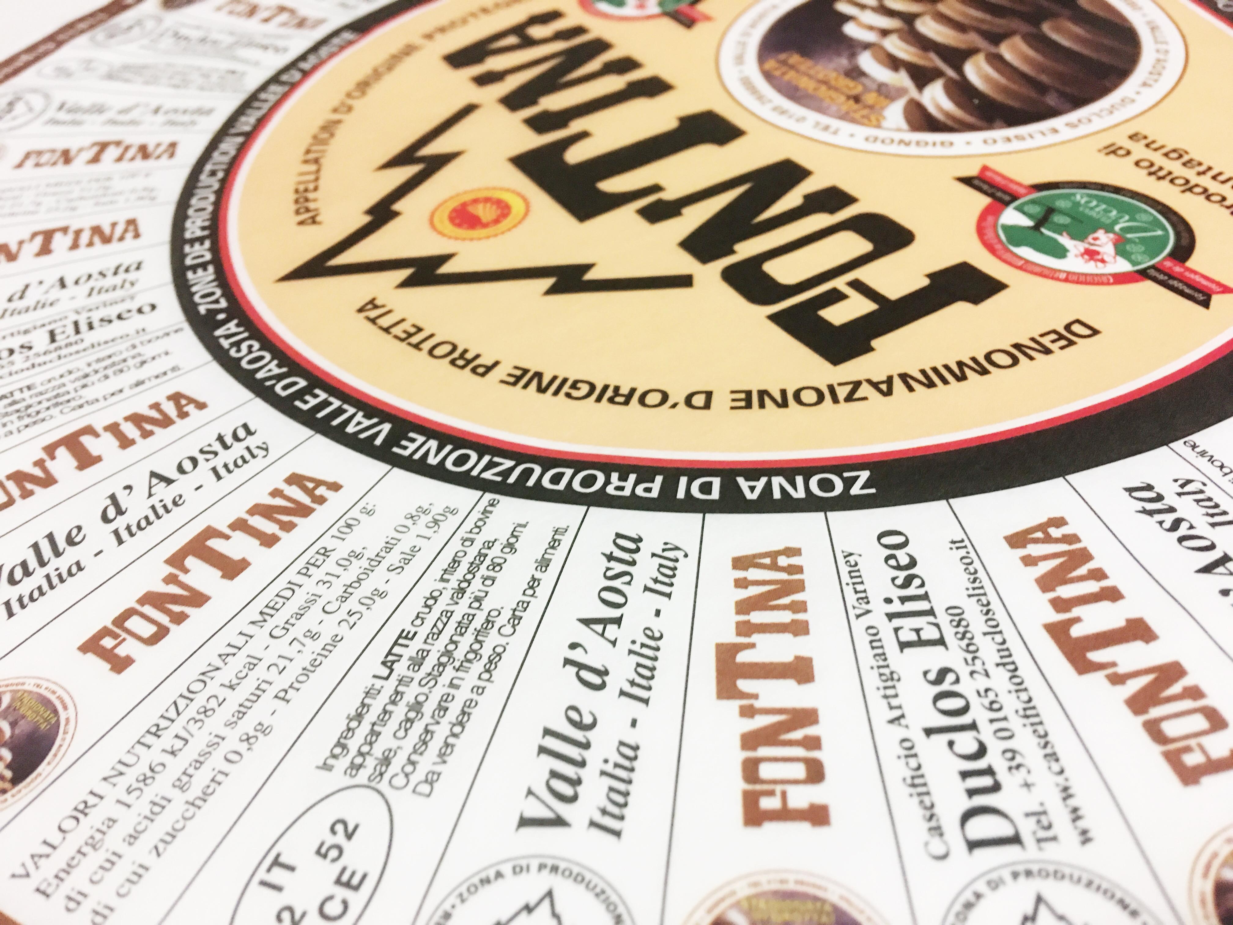 Duclos Fontina - prodotti locali valdostani - Vivere per Racocntarla