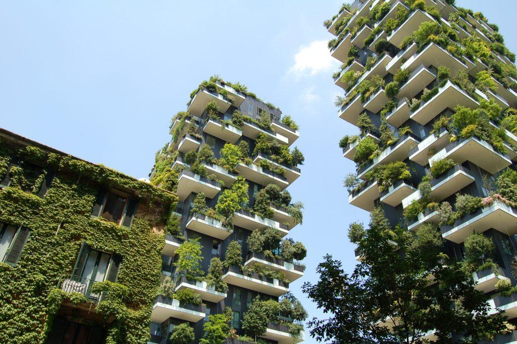 Foto di Chris Barbalis del Bosco Verticale a Milano