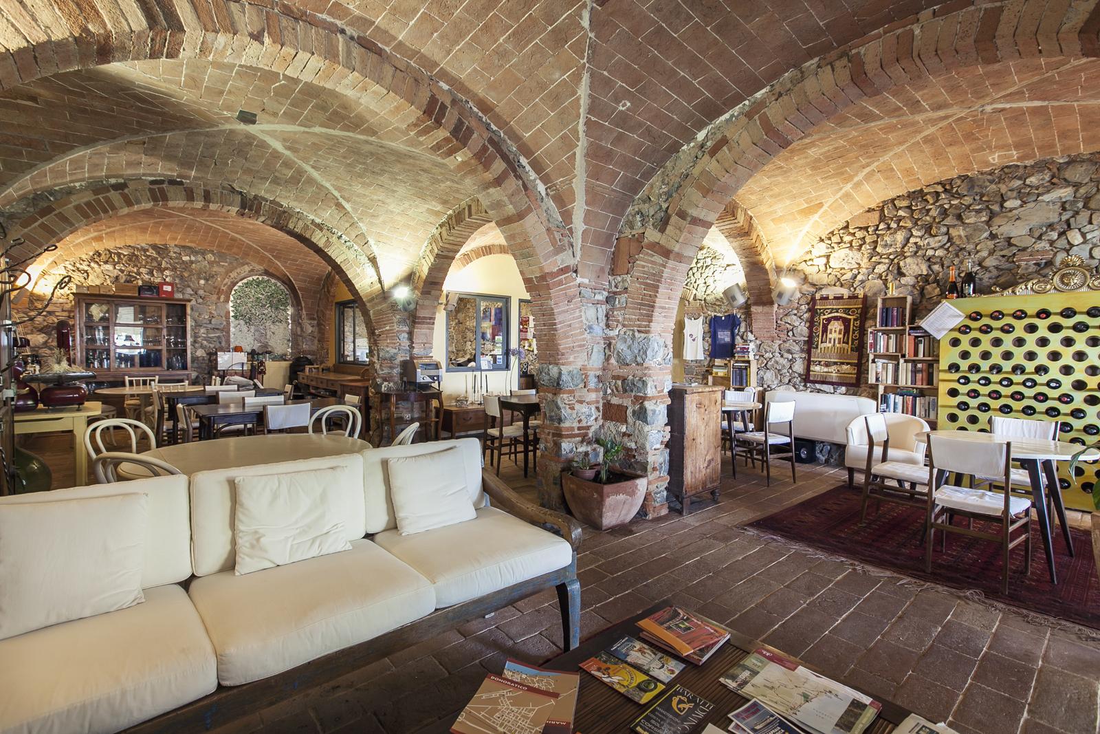 sala colazione Podere l'Agave San Vincenzo